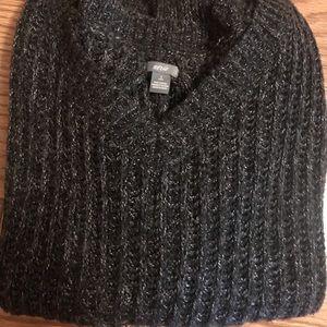 Knit V-Neck Sweater AERIE